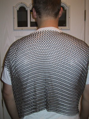 [chainmail shirt back]