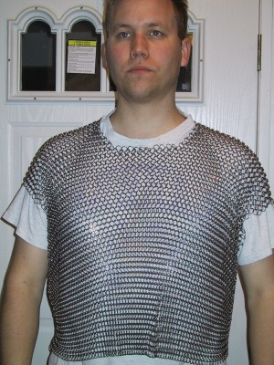 [chainmail shirt front]